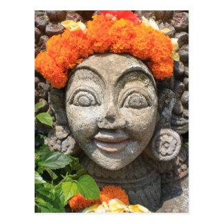 Art de Balinese Carte Postale