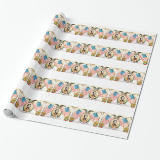 art de bannière d'abe papiers cadeaux noël