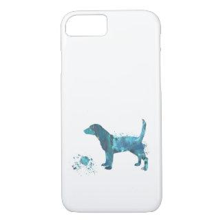 Art de beagle coque iPhone 7