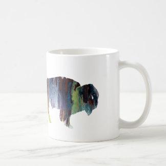 Art de bison mug