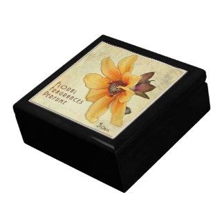 Art de boîte de parfum coloré par cru - boîte boîte à souvenirs