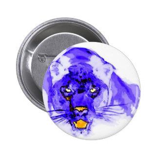 Art de bruit bleu de Digitals Jaguar Pin's