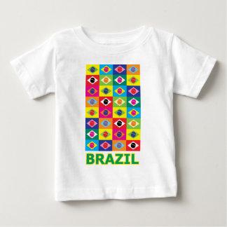 Art de bruit Brésil T-shirt Pour Bébé