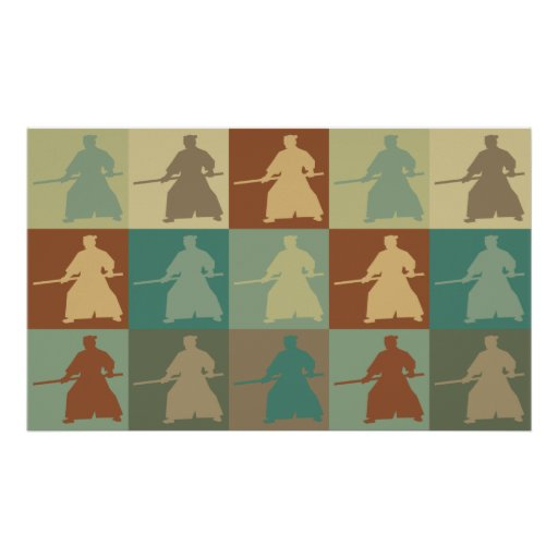 Art de bruit d'Aikido Posters