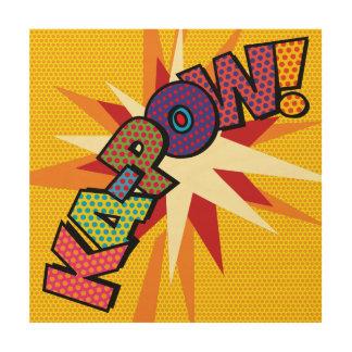 Art de bruit de bande dessinée KA-POW
