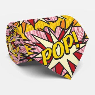 Art de bruit de bande dessinée POP/PAPA Cravates