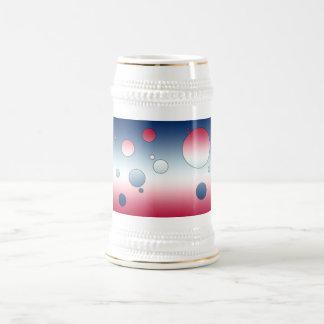 Art de bruit de Digitals : Couleurs de drapeau de Chope À Bière
