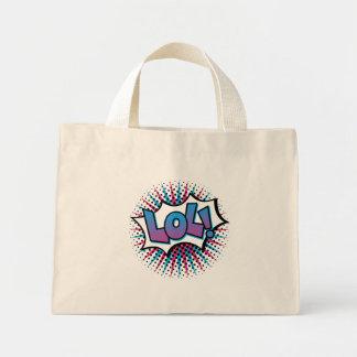 Art de bruit de LOL Mini Tote Bag