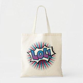 Art de bruit de LOL Tote Bag