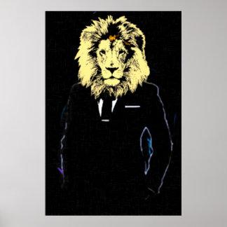 Art de bruit de M. Lionheart Success Affiches
