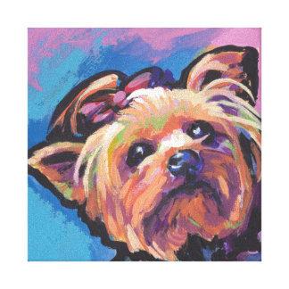 Art de bruit de Yorkie Yorkshire Terrier Toiles