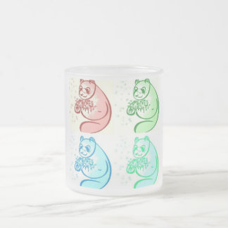 Art de bruit d'ours panda tasses à café