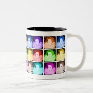 Art de bruit Elizabeth I Mug Bicolore