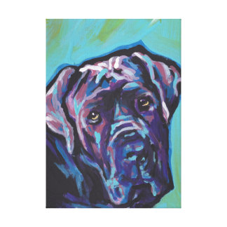 art de bruit napolitain de chien de mastiff toiles
