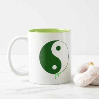 Art de bruit Yin et tasse de Yang