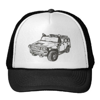 Art de camion de Hummer Casquette