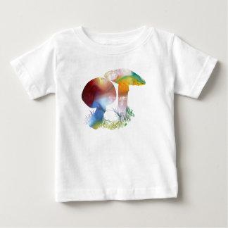 Art de champignon t-shirt pour bébé