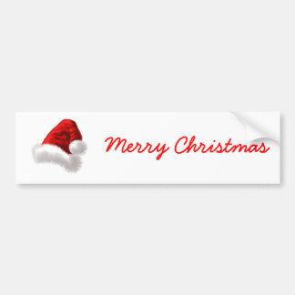 Art de chapeau de Père Noël de Noël Autocollants Pour Voiture