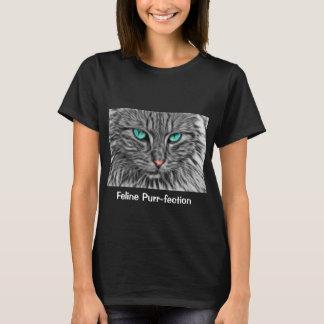 Art de chat de chemise de visage de chat t-shirt