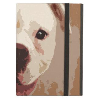 Art de chien de boxeur étui iPad air