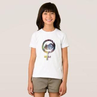 Art de chinchilla de symbole de Vénus T-shirt
