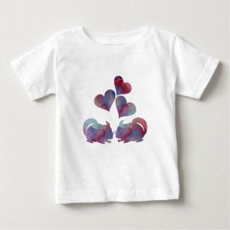 Art de chinchilla t-shirt pour bébé