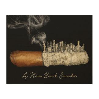Art de cigare, affiche de New York City, copie de