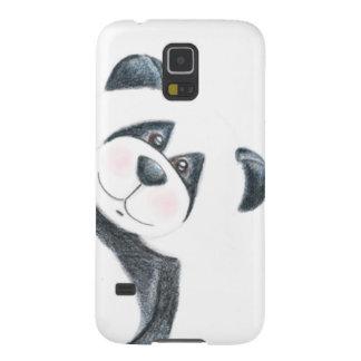 Art de crayon d'ours panda coques galaxy s5