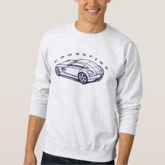 Art de croquis de courant perturbateur sweatshirt