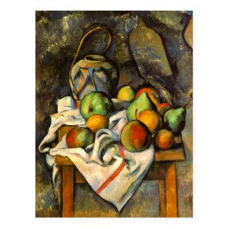 Art de cru de Paille de vase à Cezanne Carte Postale