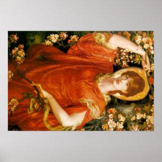 Art de Dante Gabriel Rossetti Posters