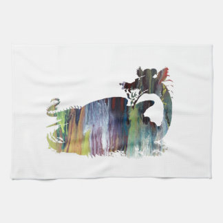 Art de dragon serviettes éponge