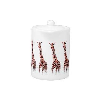 Art de faune de girafe