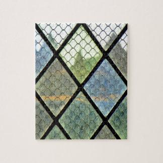Art de fenêtre puzzle