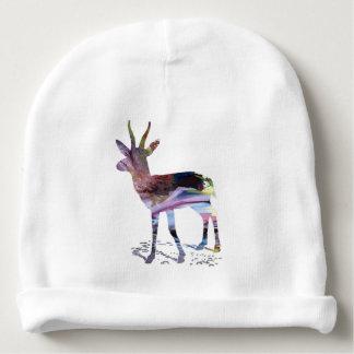 Art de gazelle bonnet de bébé