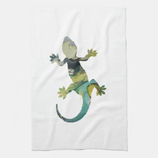 Art de Gecko Serviette Éponge