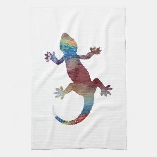 Art de Gecko Serviettes Éponge
