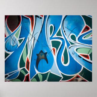 Art de graffiti/rue affiches