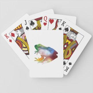 Art de grenouille jeu de cartes
