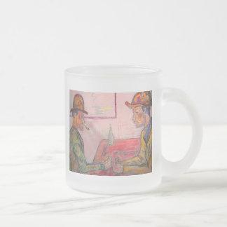 art de joueurs de carte mugs à café