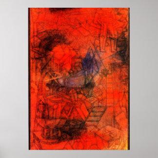 """Art de Klee : """"Brise-lames. """" Posters"""