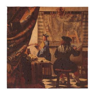 Art de la peinture par Johannes Vermeer Sous-bock