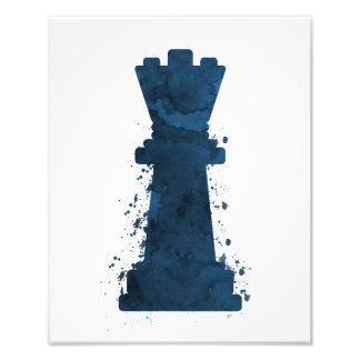 Art de la Reine d'échecs Impression Photo