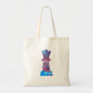 Art de la Reine d'échecs Tote Bag