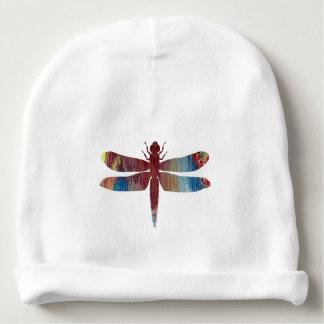 Art de libellule bonnet de bébé