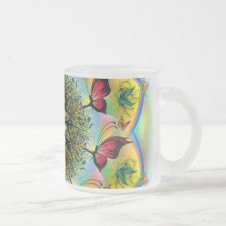 Art de mandala tasse