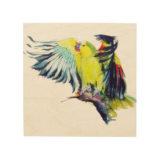 Art de mur de perroquet