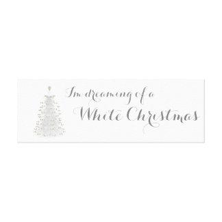Art de mur de toile de vacances d'arbre de Noël