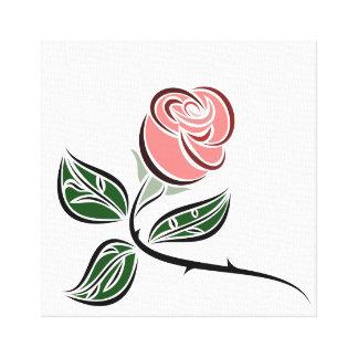 Art de mur de toile : Un simple s'est levé