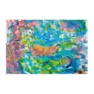 Art de mur d'original du cosmos I